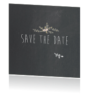 Save the Date krijtbord