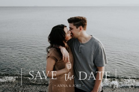 Save the Date Foto hip
